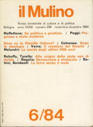 Copertina del fascicolo dell'articolo Dopo le ideologie