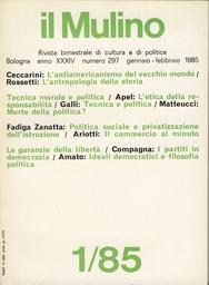 Copertina del fascicolo dell'articolo L'antropologia della storia