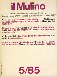 Copertina del fascicolo dell'articolo La superstizione politologica