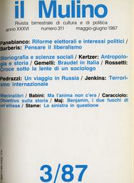 Copertina del fascicolo dell'articolo Tra scienza giuridica e scienze sociali: la sociologia del diritto