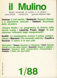 Copertina del fascicolo dell'articolo L'Italia vista dai giornalisti