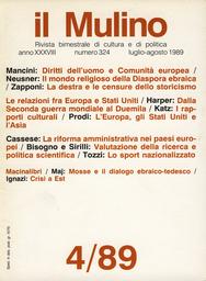 Copertina del fascicolo dell'articolo La tutela dei diritti dell'uomo: il ruolo della Corte di giustizia delle Comunità europee