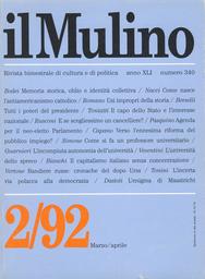 Copertina del fascicolo dell'articolo Addio del passato: memoria storica, oblio e identità collettiva
