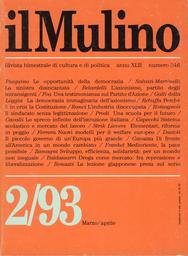 Copertina del fascicolo dell'articolo Il piccolo governo di un'Europa più grande