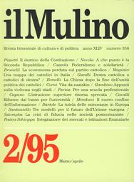 Copertina del fascicolo dell'articolo Il destino della Costituzione