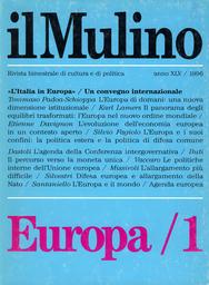 Copertina del fascicolo dell'articolo L'Europa di domani: una nuova dimensione istituzionale