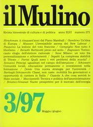 Copertina del fascicolo dell'articolo A cinquant'anni dal Piano Marshall
