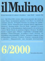 Copertina del fascicolo dell'articolo A proposito di laici e cattolici