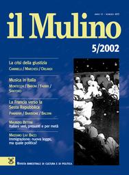 Copertina del fascicolo dell'articolo Italiani veri, presunti e per metà. Riflessioni antropologiche sulla