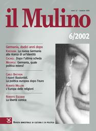 Copertina del fascicolo dell'articolo I nuovi illusionisti. La politica europea dopo l'euro