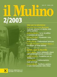 Copertina del fascicolo dell'articolo L'informazione taroccata