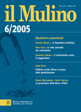 cover del fascicolo, Fascicolo arretrato n.6/2005 (novembre-dicembre)