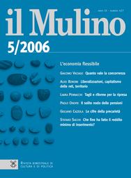 Copertina del fascicolo dell'articolo Il solito nodo delle pensioni