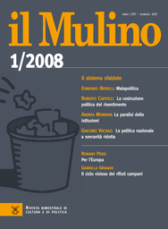Copertina del fascicolo dell'articolo La giustizia tra politica e media