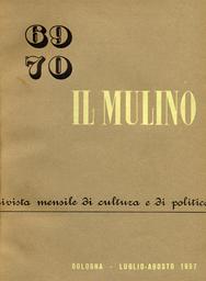 Copertina del fascicolo dell'articolo Un dibattito in America: il futuro del comunismo