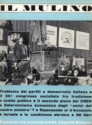 Copertina del fascicolo dell'articolo Tradizione e scelte politiche nel 35° Congresso socialista