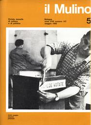 Copertina del fascicolo dell'articolo Una sfida alla società civile
