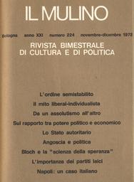 Copertina del fascicolo dell'articolo Considerazioni sul rapporto tra potere politico e potere economico nelle società occidentali
