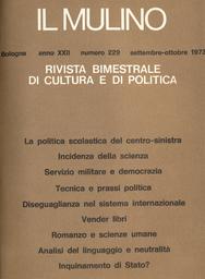 Copertina del fascicolo dell'articolo Analisi del linguaggio e neutralità