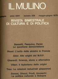 Copertina del fascicolo dell'articolo Il Bilancio della cultura a Bologna e l'Università