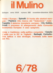Copertina del fascicolo dell'articolo La logica perversa della centralizzazione universitaria: ancora sul decreto Pedini