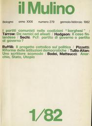 Copertina del fascicolo dell'articolo Continuità e rotture nel progetto cattolico sul politico