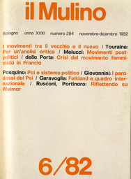 Copertina del fascicolo dell'articolo Il nuovo Psi e il paradosso del realismo astratto